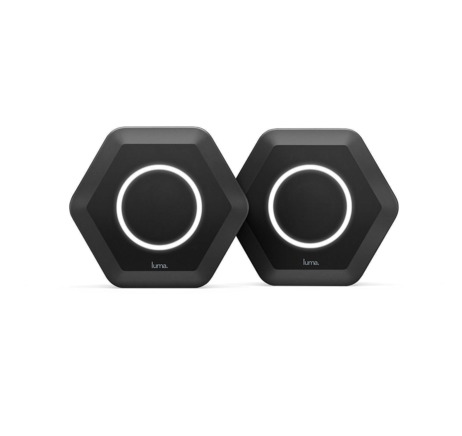 Luma Whole Home WiFi (2 Pack - Black) -  Replaces WiFi Extenders and Routers, Compatible with Alexa, Free Virus Blocking, Free Parental Controls, Gigabit Speed by Luma Home Wifi System
