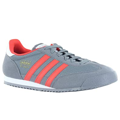 1bd848888c00 adidas Boys Originals Junior Boys Dragon Trainers in Grey - UK 4.5 ...