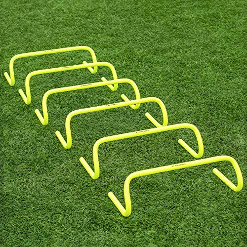 Net World Sports Forza 6″/9″/12″ Speed Hurdles – New & Improved Desi ...