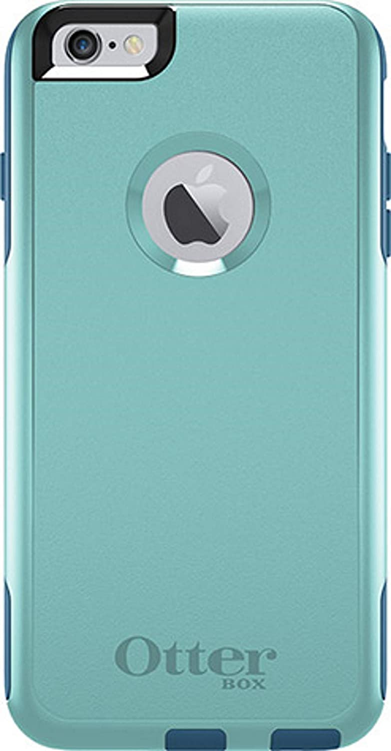 OtterBox Commuter Series Case for iPhone 6S and iPhone 6 Plus (NOT for The REGULER) - Non-Retail Packaging - Aqua Blue/Deep Water