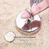 Fishing Magnet, 555LBS 2.5Inches Neodymium Rare