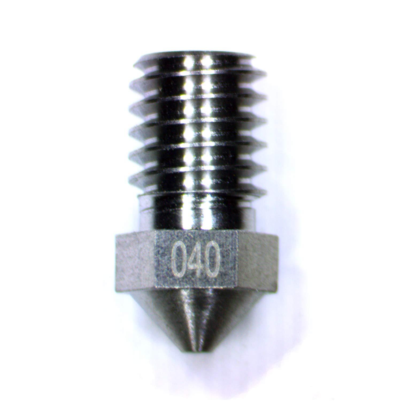 Boquilla extrusora para impresora 3D de tungsteno M6, 0,4 mm de ...
