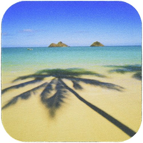 3dRose CST_89769_2 USA, Hawaii, Kailua. Lanikai Beach - US12 DPB1997 - Douglas Peebles - Soft Coasters, Set of 8