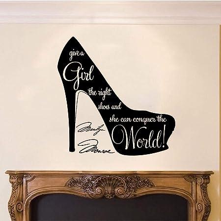 wangpdp Dale a una Chica los Zapatos correctos Marilyn Monroe Cita ...