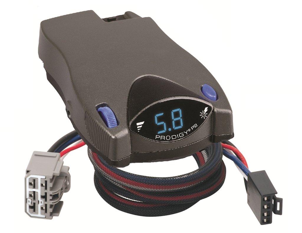 Tekonsha P2 Prodigy Brake Control Wiring Harness For 2014 Nissan Pathfinder Trailer Armada Titan Frontier Infiniti Qx56 Controller Plug Play Wire