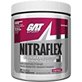 GAT Clinically Tested Nitraflex, Testosterone Enhancing Pre Workout, Fruit Punch,300 Gram(Contains Caffeine)