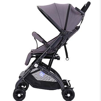 Sillas de paseo ERRU- Cochecito de bebé/puede sentarse o mentir alto paisaje cuatro
