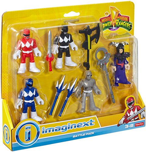 Fisher Price Imaginext Power Rangers Battle Pack Blue