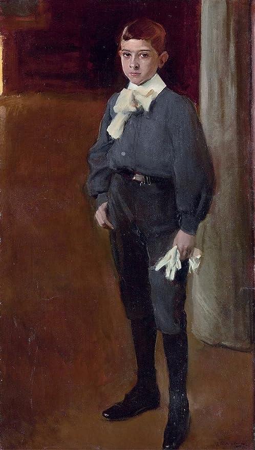 Retrato Del Niño José Maria Suárez By Joaquin Sorolla Digital ...