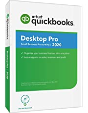 $189 » QuickBooks Desktop  Pro 2020  Accounting Software for Small Business with Amazon Exclusive Shortcut Guide [PC Disc]