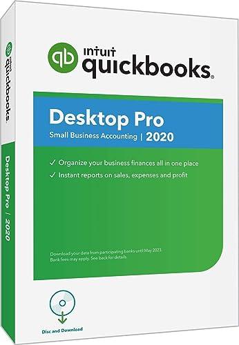 Brand New intuit Quickbooks Desktop Pro 2019 Windows Disc 1 User only