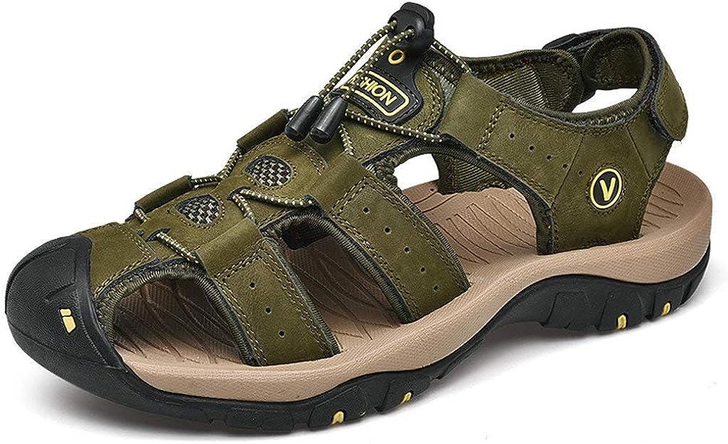 Zapatillas de Verano Fannyfuny Casuales Zapatillas Deportivas Sandalia Ligeras Zapatos Respirable Deportes Zapatillas Casa Abiertas para Hombre 38-46