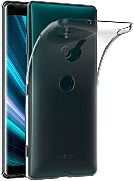 AICEK Funda Sony Xperia XZ3, Transparente Silicona Fundas para ...
