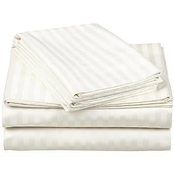Superior - Juego de sábanas 96 x 203 cm, esquineras Profundas, de algodón de