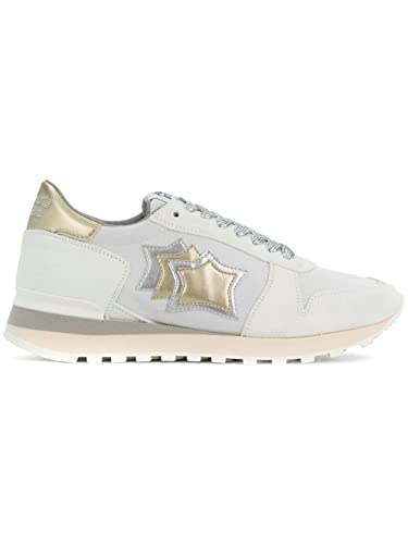 Damen Sneaker Weiß Bianco, Weiß - Bianco - Größe: 36 EU Atlantic Stars