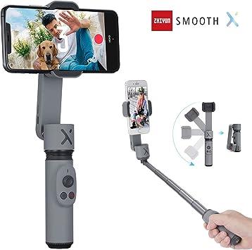 Zhiyun Smooth-Q estabilizador de 3 ejes de mano para Smartphone ...