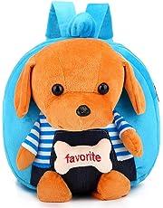 Kids Backpack, Plush Animal Cartoon Mini Travel Bag, Mini Children Bag Cute Toddler Backpack for Baby Boys Girls