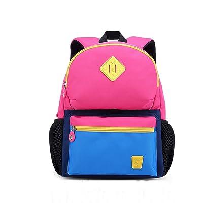 CJH Cartable, élèves, 1-2, grade, enfants, sacs garçons et filles 3-4-6 ans, classe enfants, grande classe, cartable, herbe, vert, à, bleu foncé, sac à dos, rose, à, bleu fonc&