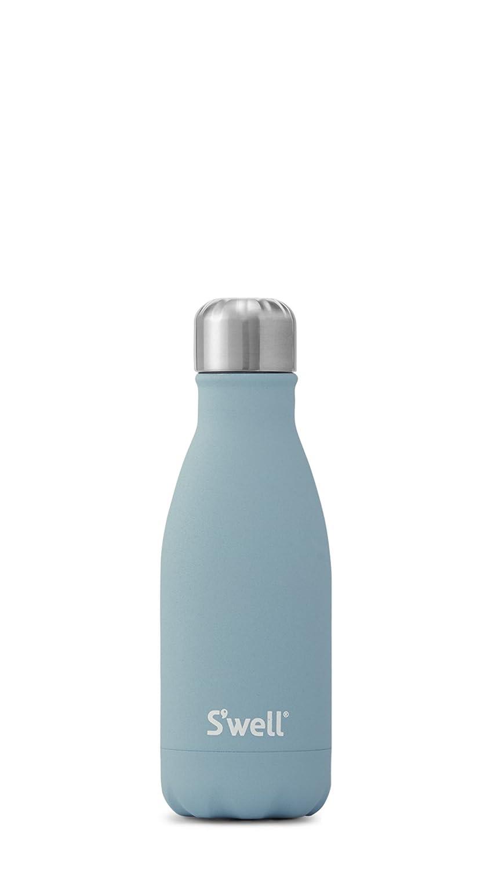 S 'well真空断熱ステンレススチールウォーターボトル、ダブル壁、17オンス、銅ローズゴールド 25oz ブルー LWB-BLUE02 B071XZLFZR 9 oz|アクアマリン アクアマリン 9 oz
