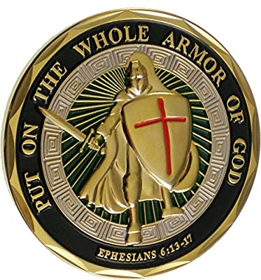 Eagle Crest NEW Armor of God Challenge Coin by Eagle Crest