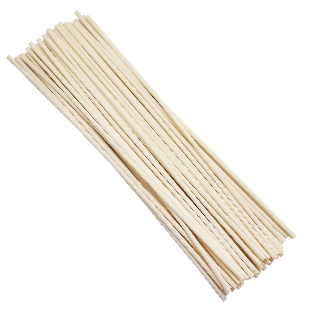 Hysagtek 50pcs Fragrance Diffuser Reed Rattan Sticks for DIY Home Diffuser, 8 inch