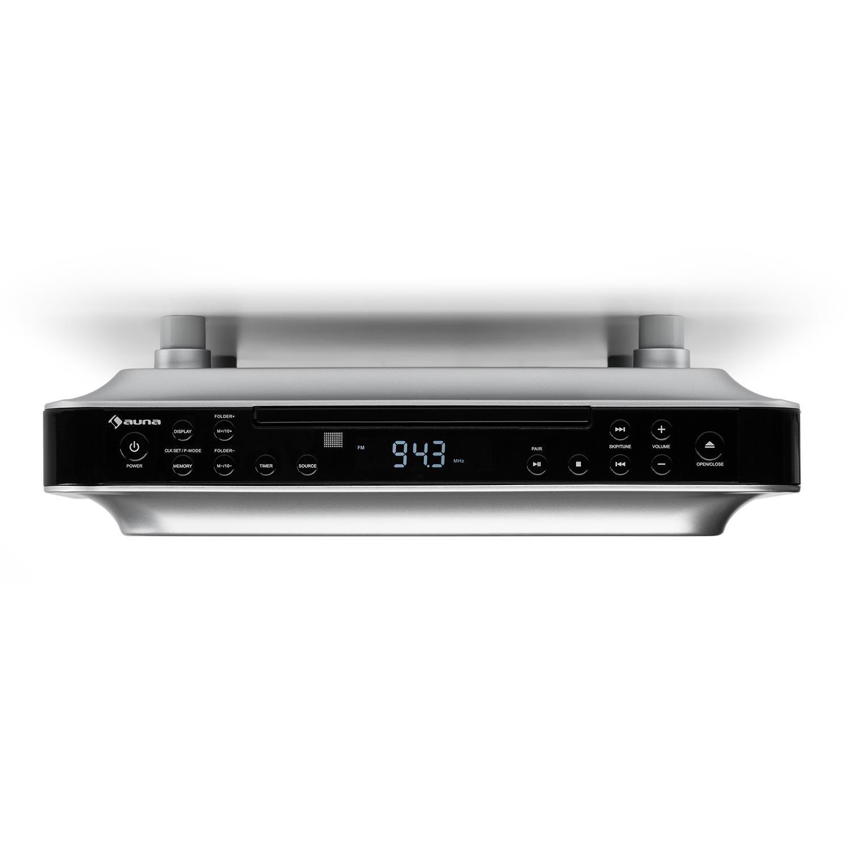 auna KRCD-100 BT Unterbau-Radio Küchenradio: Amazon.de: Elektronik