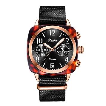 XMYL Mujer Relojes,Cuarzo Impermeable Los Hombres Relojes La Moda Decoracion Pareja Reloj,con Pantalla De Calendario,Black: Amazon.es: Deportes y aire libre