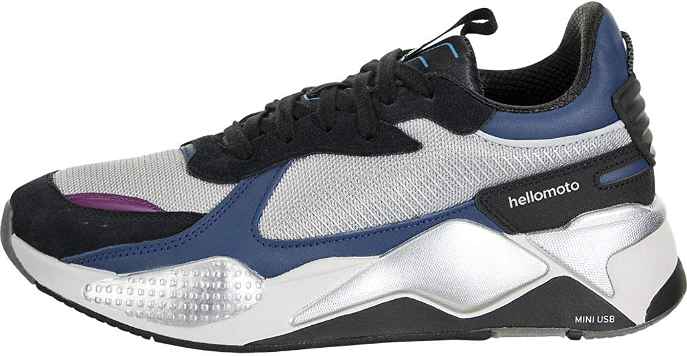 Amazon.com | PUMA Mens RS-X Tech Motorola Gray Low Top Sneakers