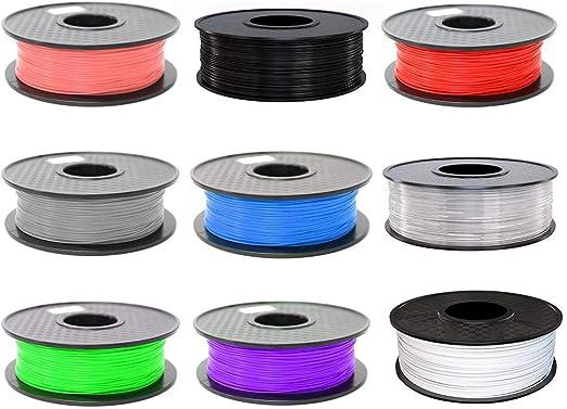 Quiet.T - Filamento para Impresora 3D (PLA, 1,75 mm, 1 kg, para ...