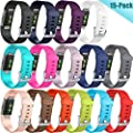 Hamile For Fitbit Charge 2 Bands, Wristbands Strap for Fitbit Charge2, Large Small