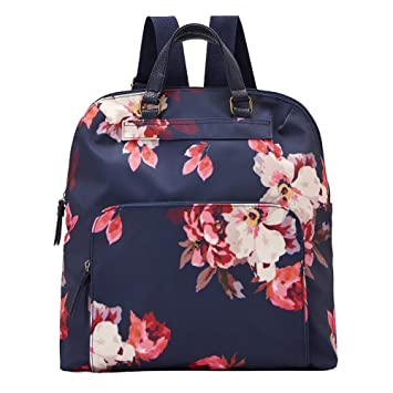 b7ee92a2d434 Joules Women s Ambleside Backpack Handbag Blue (Navy Bircham Bloom ...