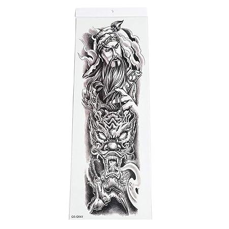 Handaxian 2pcs-Full Tattoo Tattoo Sticks Brazo de Brazo Tatuaje ...
