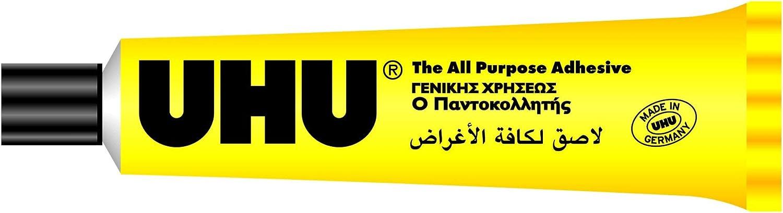 Pegamento multiusos en tubo UHU