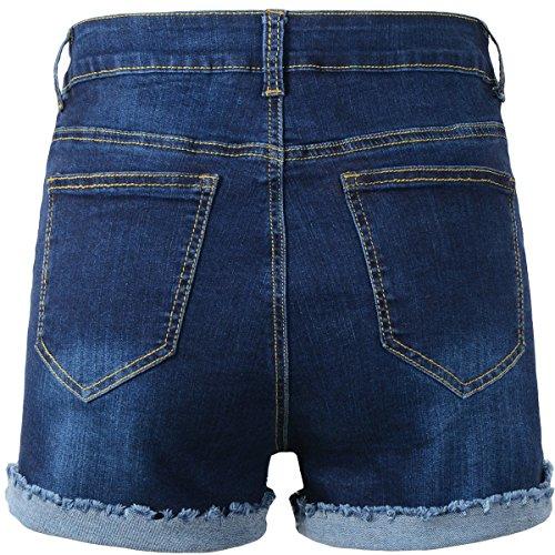 Buy high waisted shorts denim