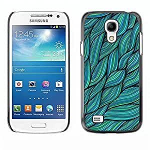 Unique design personality Green Leaves Nature Ink Summer - Samsung Galaxy S4 Mini i9190 MINI ka ka case