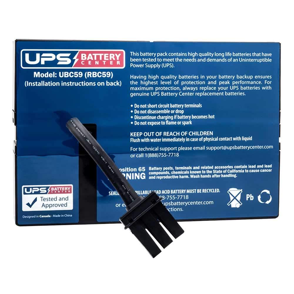 APC Smart-UPS SC 1500VA SC1500 UPSBatteryCenter Compatible Replacement Battery Pack