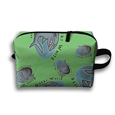 TTRY BAG Great White Shark Tours Travel Toiletry Bags Business Toiletries Bag For Men