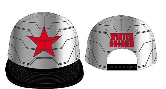 Captain America Civil War Gorra Béisbol Winter Soldier  Amazon.es  Juguetes  y juegos 62ea308ca9d