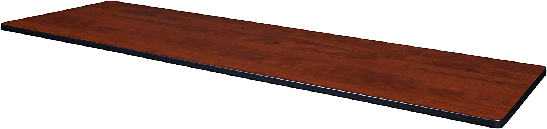 Regency Rectangular Standard Table Top, 84 x 24, Cherry/Maple