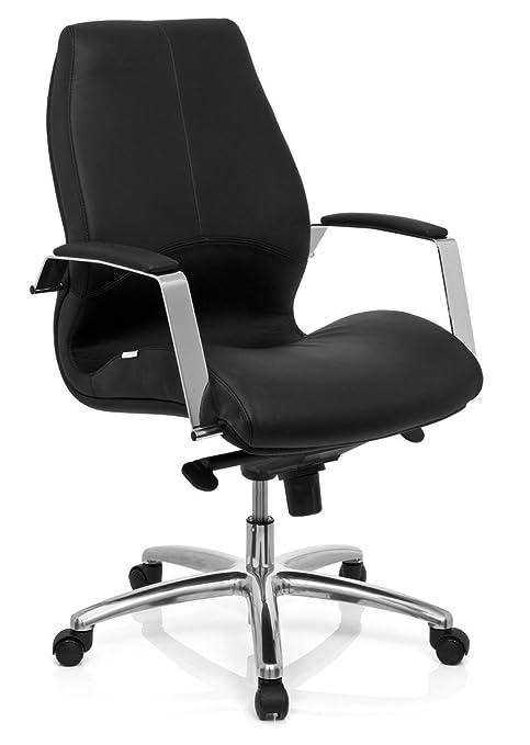 hjh OFFICE 720020 silla de oficina TULA piel sintética negro ...