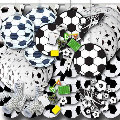 Fútbol Party Set Decorativo Grande: Amazon.es: Hogar