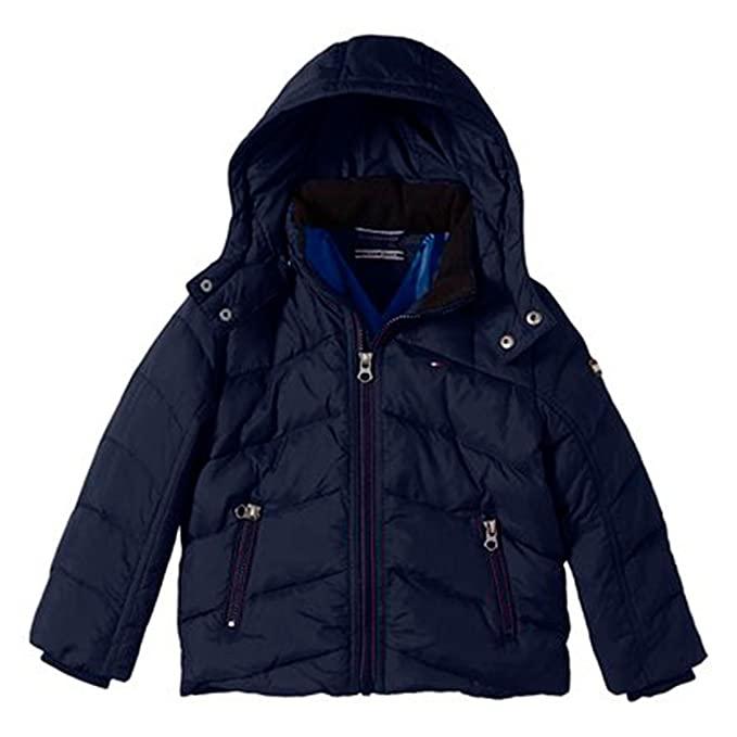 Tommy Hilfiger Boy s Nebraska Down Jacket Jacket  Amazon.co.uk  Clothing 726bffc20e
