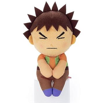 "Pokemon Chokkorisan Brock Takeshi Pierre Rocko Takara Tomy Plush Doll 13 cm Peluche 5.1"""