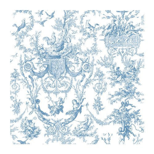 York Wallcoverings AT4241SMP Ashford Toiles Old World Toile Wallpaper Memo Sample, 8-Inch x 10-Inch