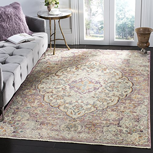 Safavieh Illusion Collection ILL711F Cream and Rose Area Rug 3 x 5