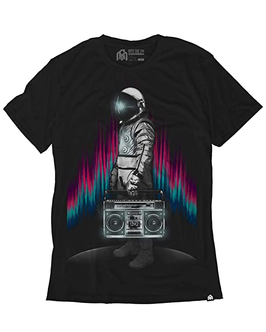0683392797d02 INTO THE AM Men's Casual Short Sleeve Graphic Tee Shirts