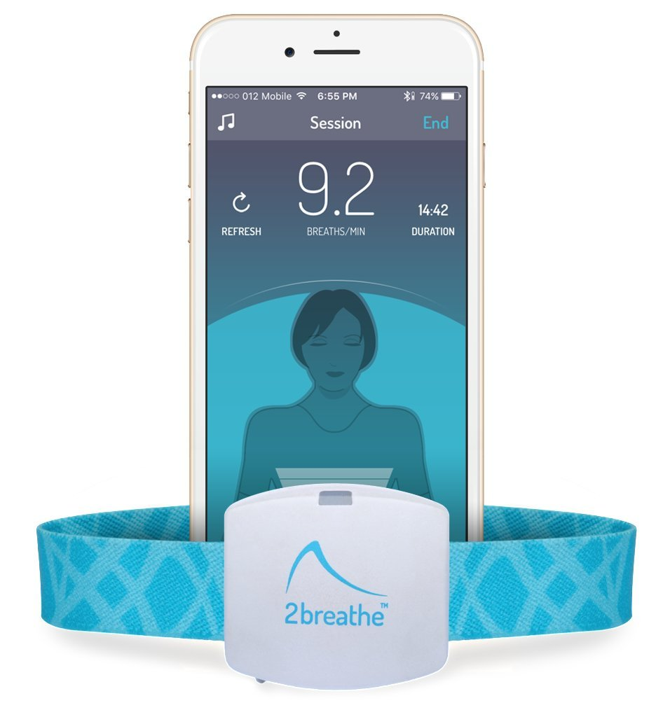 2breathe Sleep Inducer - Sleep Sound System. Smart Device and Mobile App to Induce Sleep. Guides You to Slow Breathing with Prolonged Exhalation using Sounds. Natural Sleep Therapy Machine sleep gadgets - 61aVAHTyQAL - Sleep gadgets – the best sleep gadgets, tools, and hacks