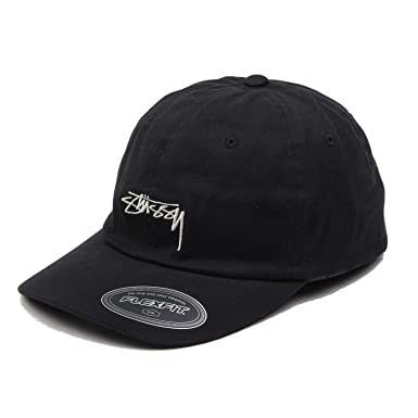 Stussy - Stock Fitted Low Cap - Black: Amazon.es: Ropa y accesorios