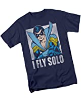 I Fly Solo -- Nightwing -- DC Comics Adult T-Shirt