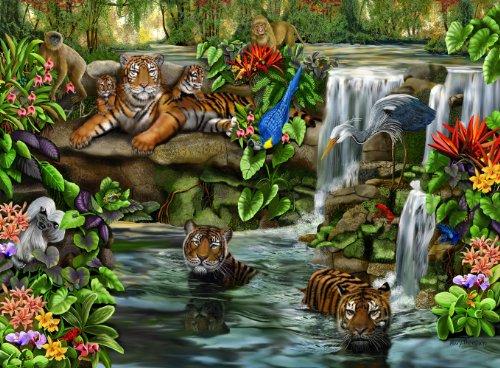 Ravensburger Tiger Falls - 500 Piece Puzzle